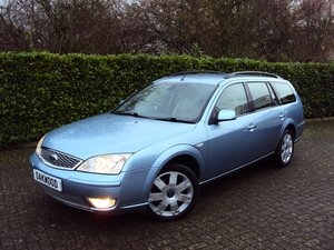 2005 A STUNNING & RARE Mondeo Ghia X Automatic Estate - FSH  For Sale