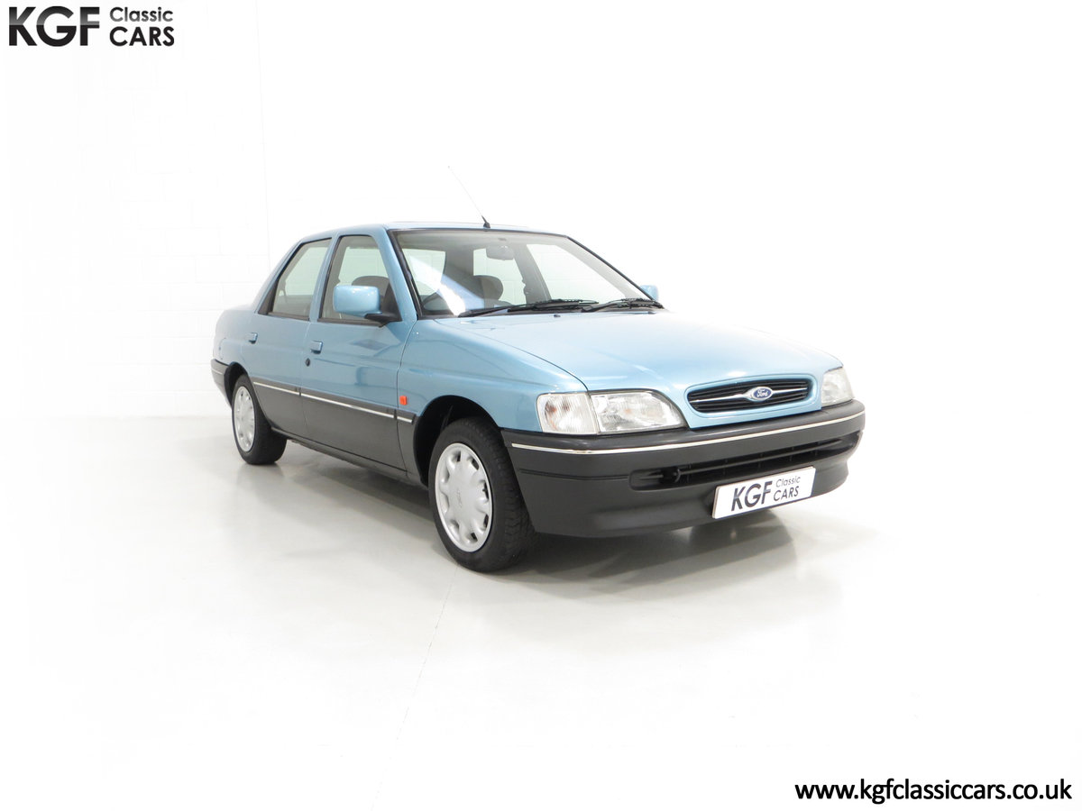 1993 A Rare Ford Orion Equipe 1.8EFi with 22,285 Miles For Sale (picture 1 of 6)