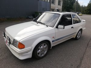 1985 Ford Escort RS Turbo S1 SOLD