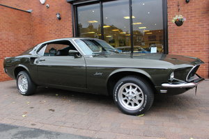 1969 Ford Mustang Fastback 3 Speed Manual | Rare Black Jade