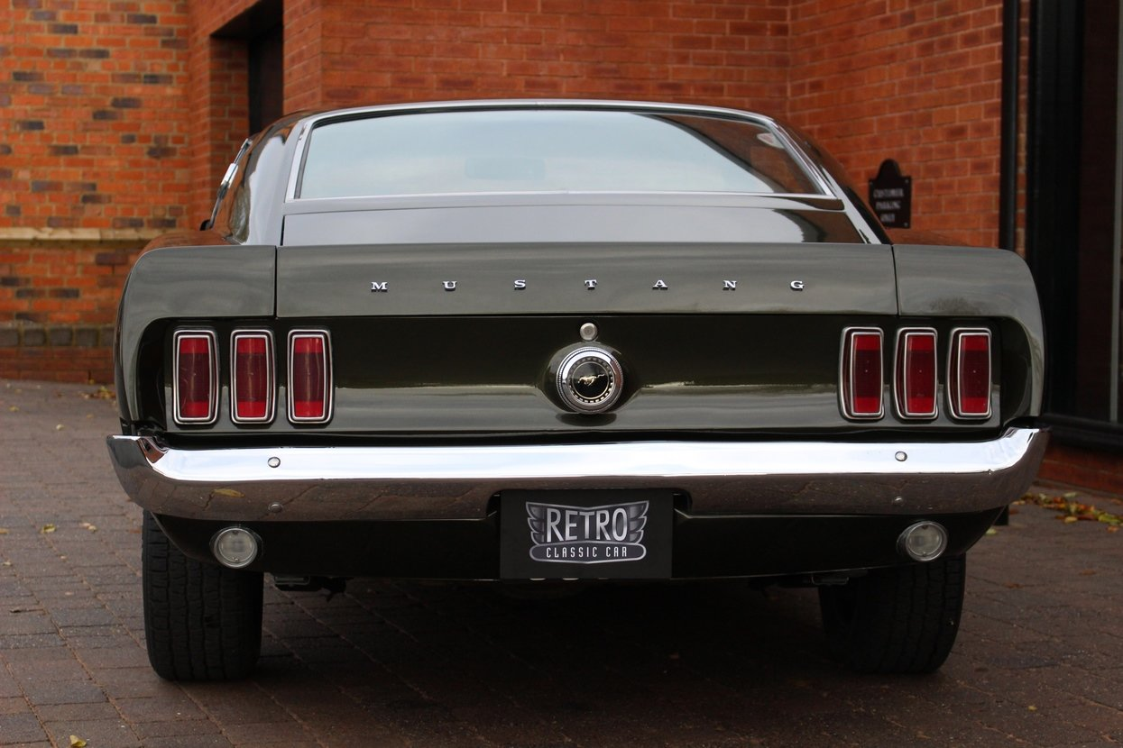 1969 Ford Mustang Fastback 3 Speed Manual   Rare Black Jade For Sale (picture 4 of 10)