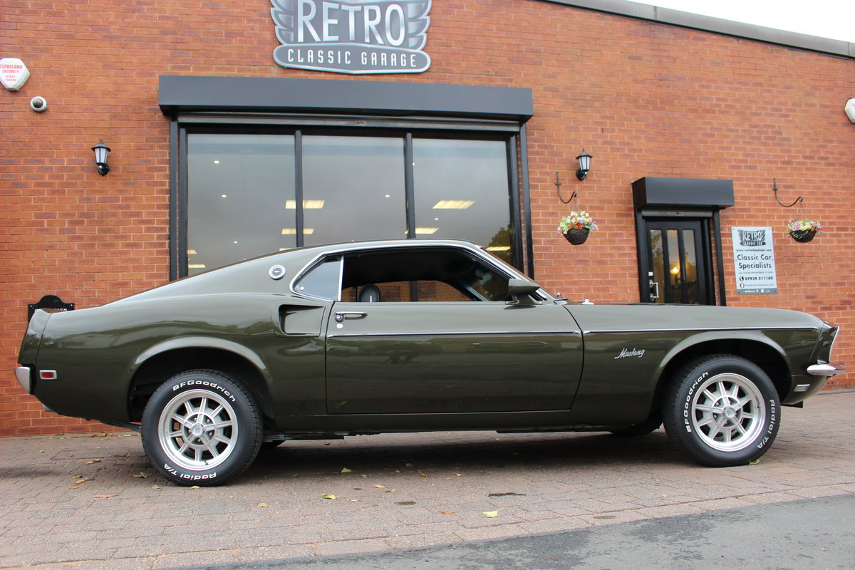 1969 Ford Mustang Fastback 3 Speed Manual   Rare Black Jade For Sale (picture 5 of 10)