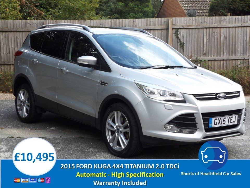 2015 Ford Kuga 2.0TDCi (163ps) 4X4 Powershift Automatic  For Sale (picture 1 of 1)