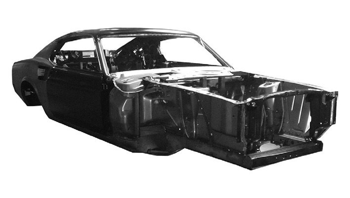 1967 Ford Mustang Shell 65-70   (picture 4 of 5)