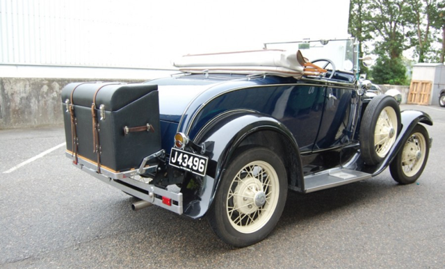 1930 Ford Model A de luxe Roadster SOLD (picture 2 of 6)
