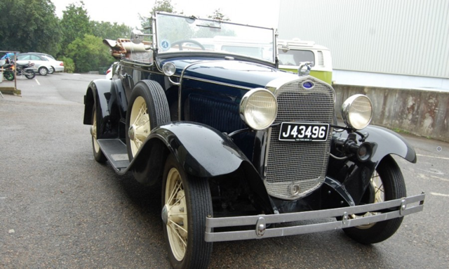 1930 Ford Model A de luxe Roadster SOLD (picture 3 of 6)