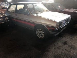 1981 Fiesta 1.1L mk1 56k Supersport replica in progress For Sale