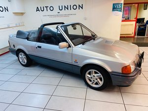 1988 FORD ESCORT XR3i CABRIOLET SPECIAL EDITION For Sale
