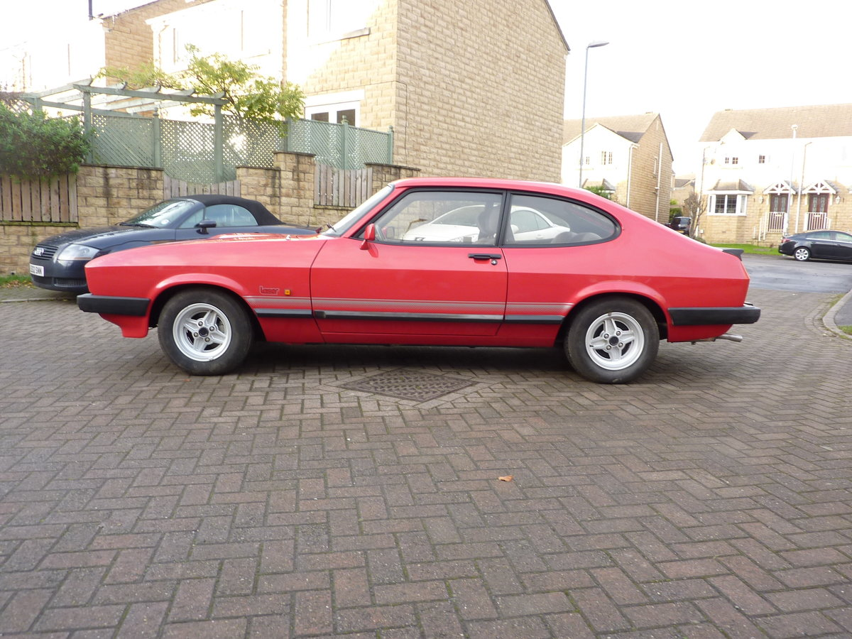FORD CAPRI  2L LASER  [1986] 59000 MILES For Sale (picture 1 of 6)