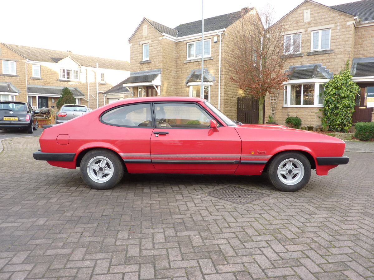 FORD CAPRI  2L LASER  [1986] 59000 MILES For Sale (picture 2 of 6)