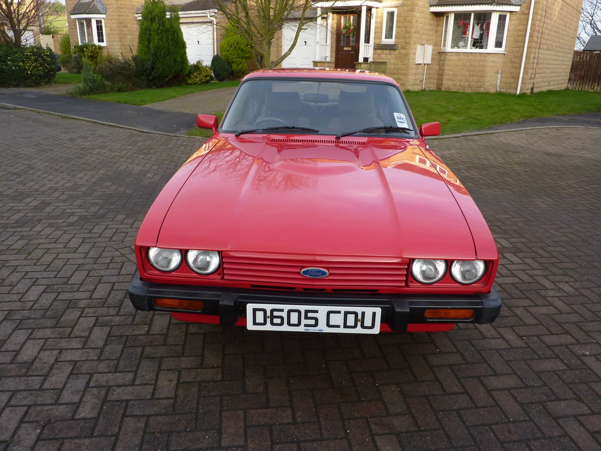 FORD CAPRI  2L LASER  [1986] 59000 MILES For Sale (picture 4 of 6)