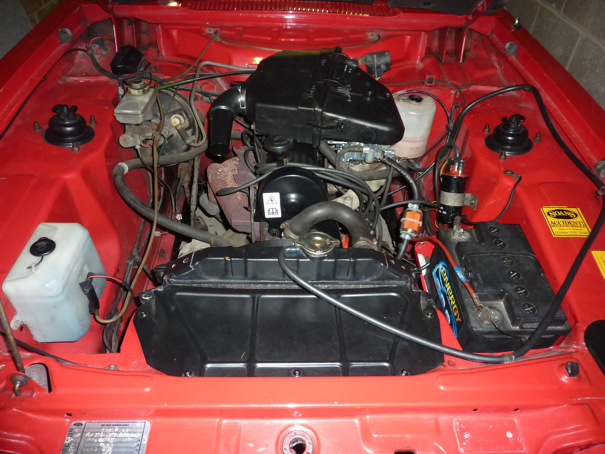 FORD CAPRI  2L LASER  [1986] 59000 MILES For Sale (picture 6 of 6)
