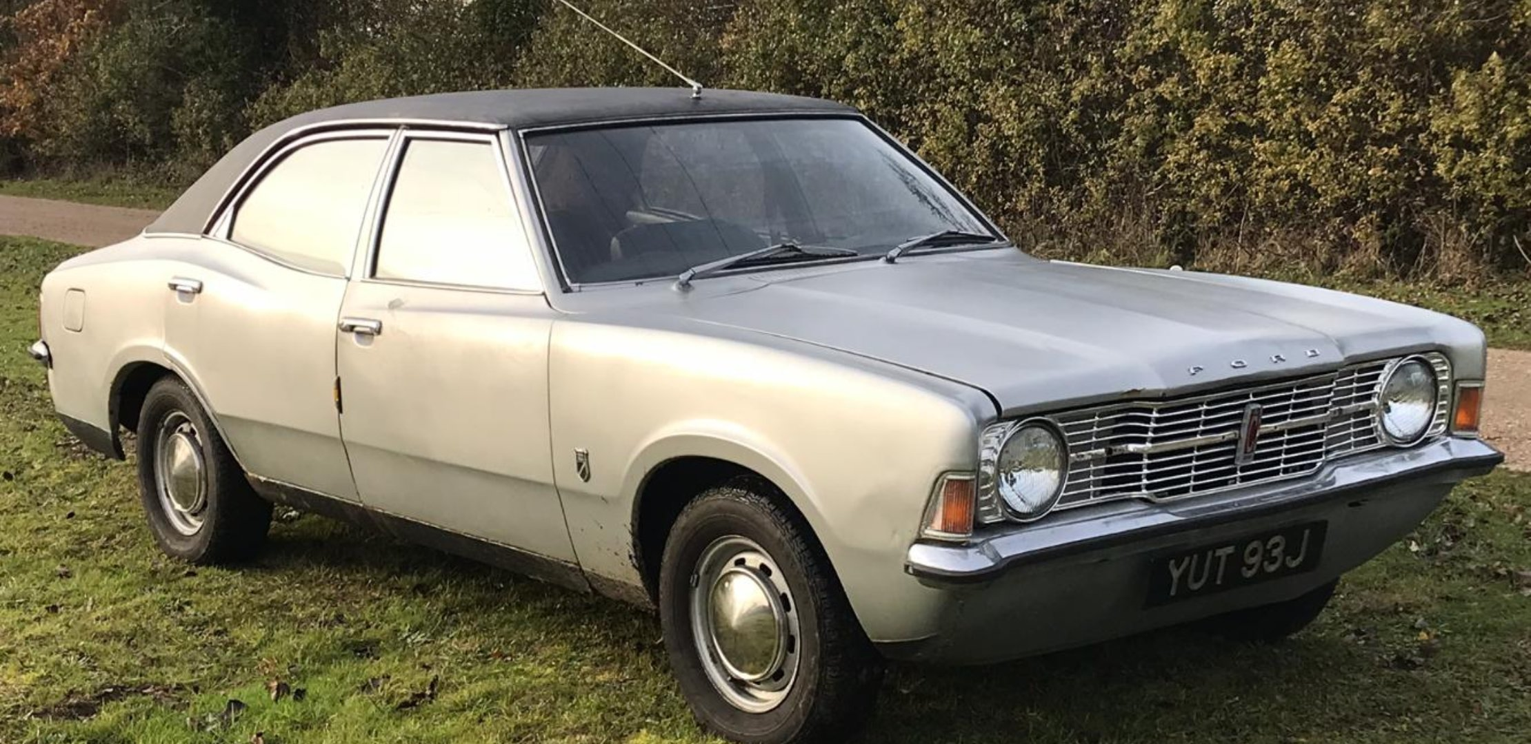 1971 Mk3 Ford Cortina 1600 Base For Sale (picture 1 of 6)