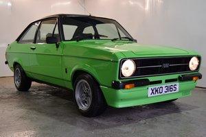 1978 Ford Escort RS Mexico, Better Than New...Stunning! For Sale