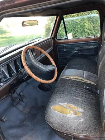 1978 Ford F150 Ranger XLT 4x4 Short Bed Pick-Up Truck $9.5k For Sale (picture 5 of 6)