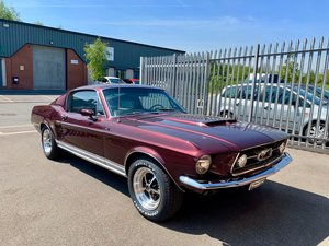 1967 Ford Mustang Fastback 390GT S code