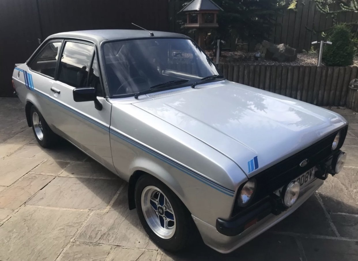1980 Ford escort harrier 1600cc, strato silver For Sale (picture 1 of 6)
