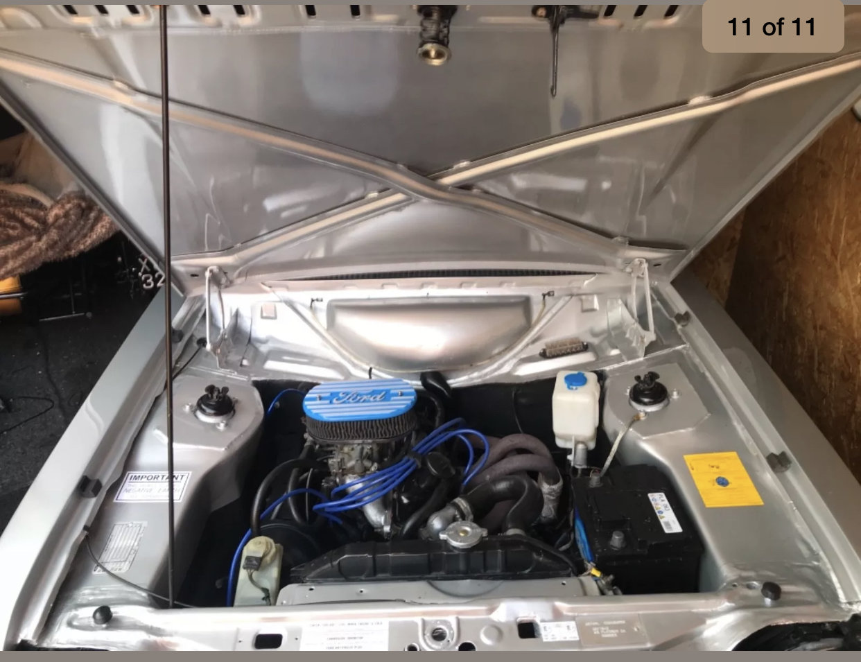 1980 Ford escort harrier 1600cc, strato silver For Sale (picture 4 of 6)