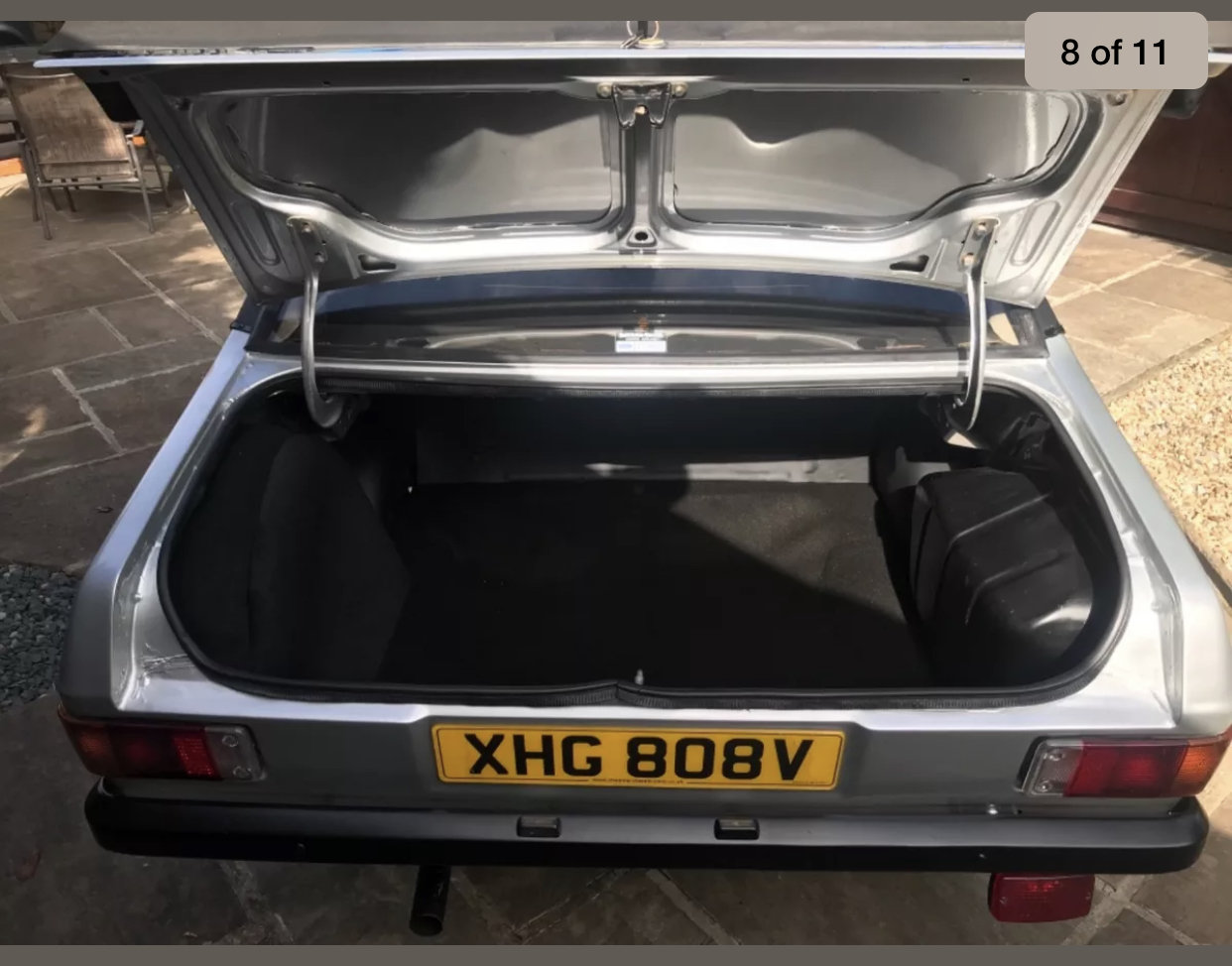 1980 Ford escort harrier 1600cc, strato silver For Sale (picture 6 of 6)