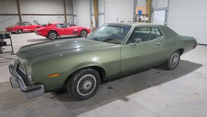 1973 Ford Torino Fast 351C AT Jade(~)Black Cili Car $8.9k For Sale