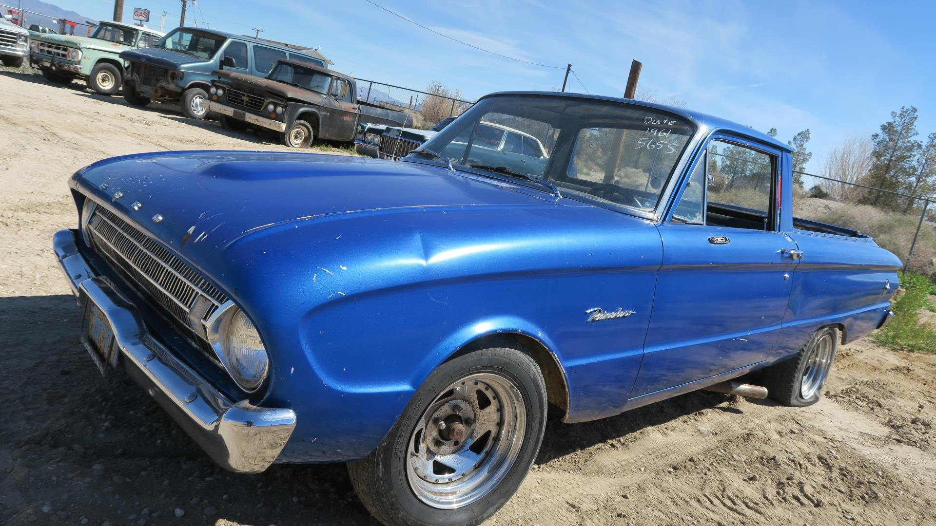 1961 Ford Ranchero Car(~)Truck 289 AT Cali Project $2.9k For Sale (picture 1 of 6)