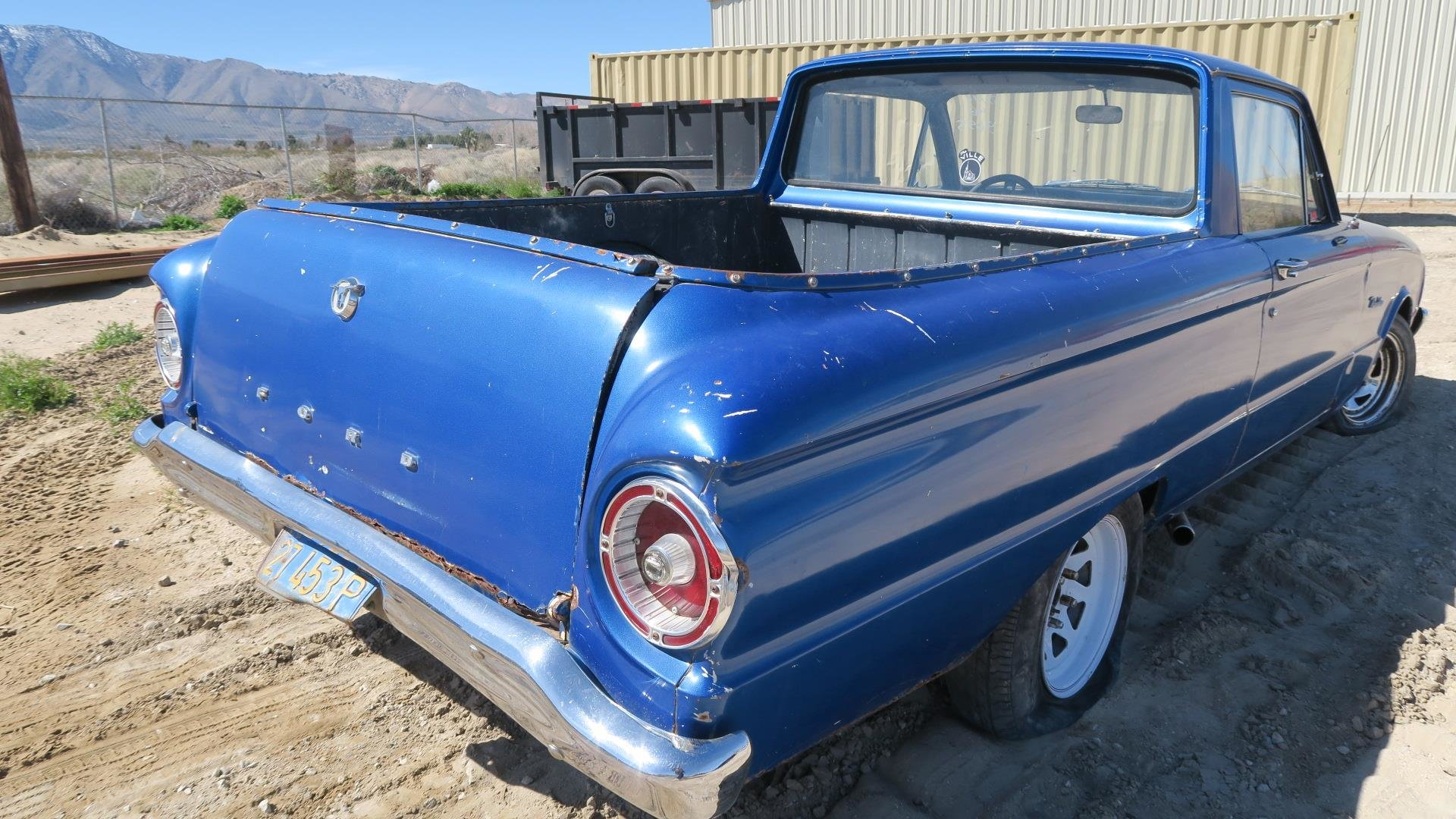 1961 Ford Ranchero Car(~)Truck 289 AT Cali Project $2.9k For Sale (picture 6 of 6)