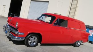 1954 Ford SEDAN DELIVERY Wagon Red Driver v-8 Manual $14.5k