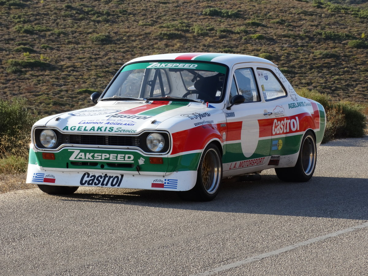 1968 Ford Escort MkI RS1600 Zakspeed, Championship winner For Sale (picture 1 of 6)