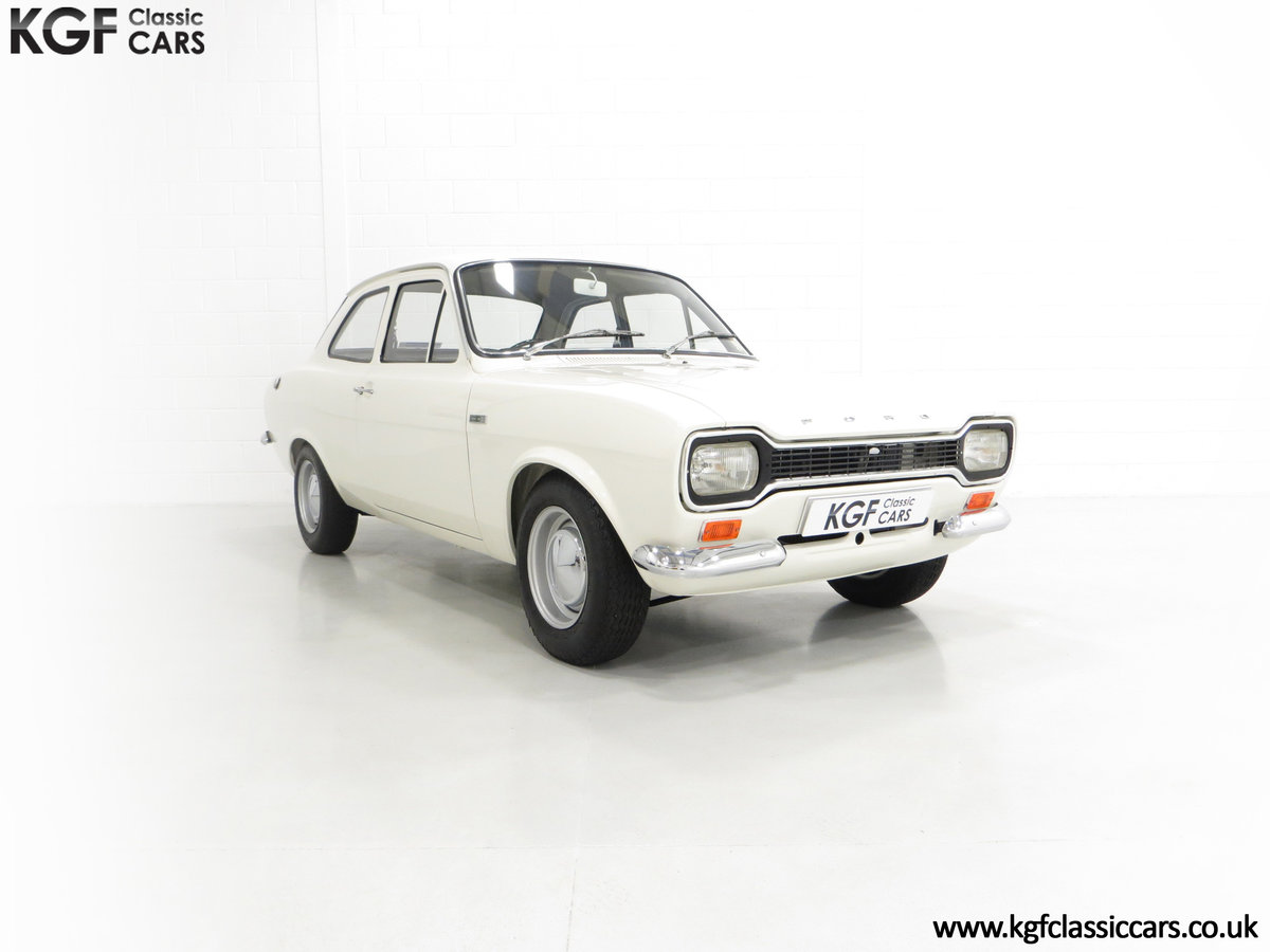 1969 An Early Mk1 Ford Escort Twin Cam in Perfect Condition For Sale (picture 1 of 6)