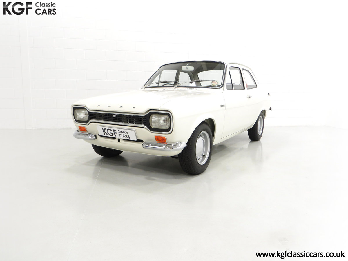 1969 An Early Mk1 Ford Escort Twin Cam in Perfect Condition For Sale (picture 2 of 6)