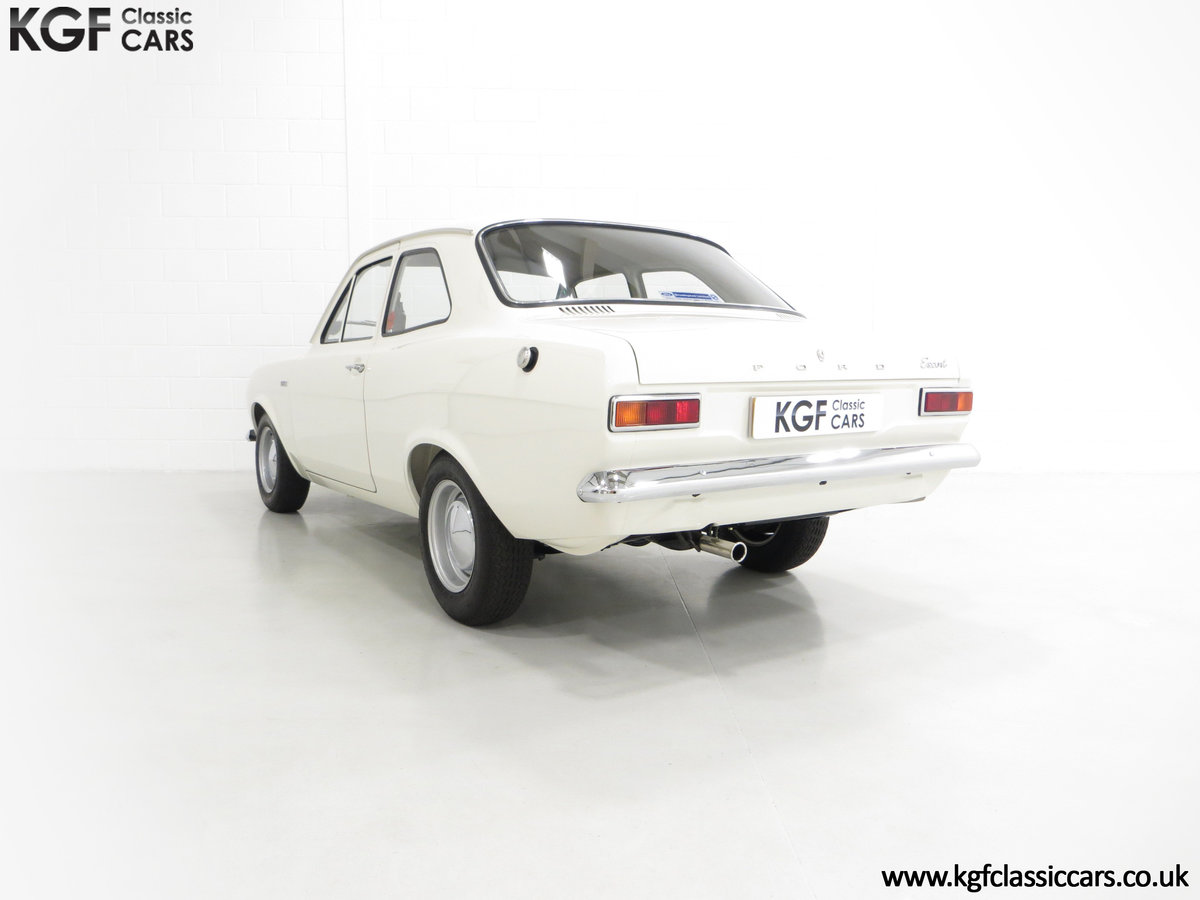 1969 An Early Mk1 Ford Escort Twin Cam in Perfect Condition For Sale (picture 4 of 6)