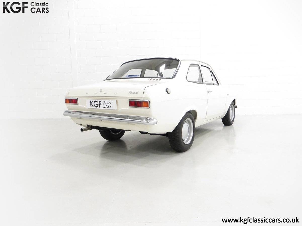 1969 An Early Mk1 Ford Escort Twin Cam in Perfect Condition For Sale (picture 5 of 6)