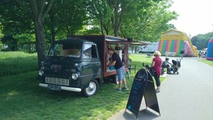 1960 Ford Thames Vintage coffee truck