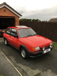 1986 Ford Fiesta XR2 Mark 2