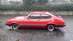 1986 Ford capri 2 litre laser For Sale