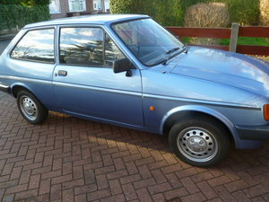 1986 Ford fiesta 1.1 pop +. original beauty. For Sale