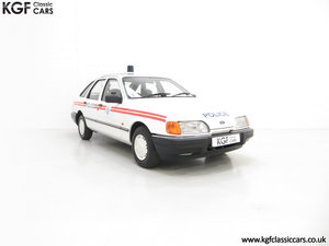 1990 Calling all Cars a Road Legal Ford Sierra Police Recreation  SOLD