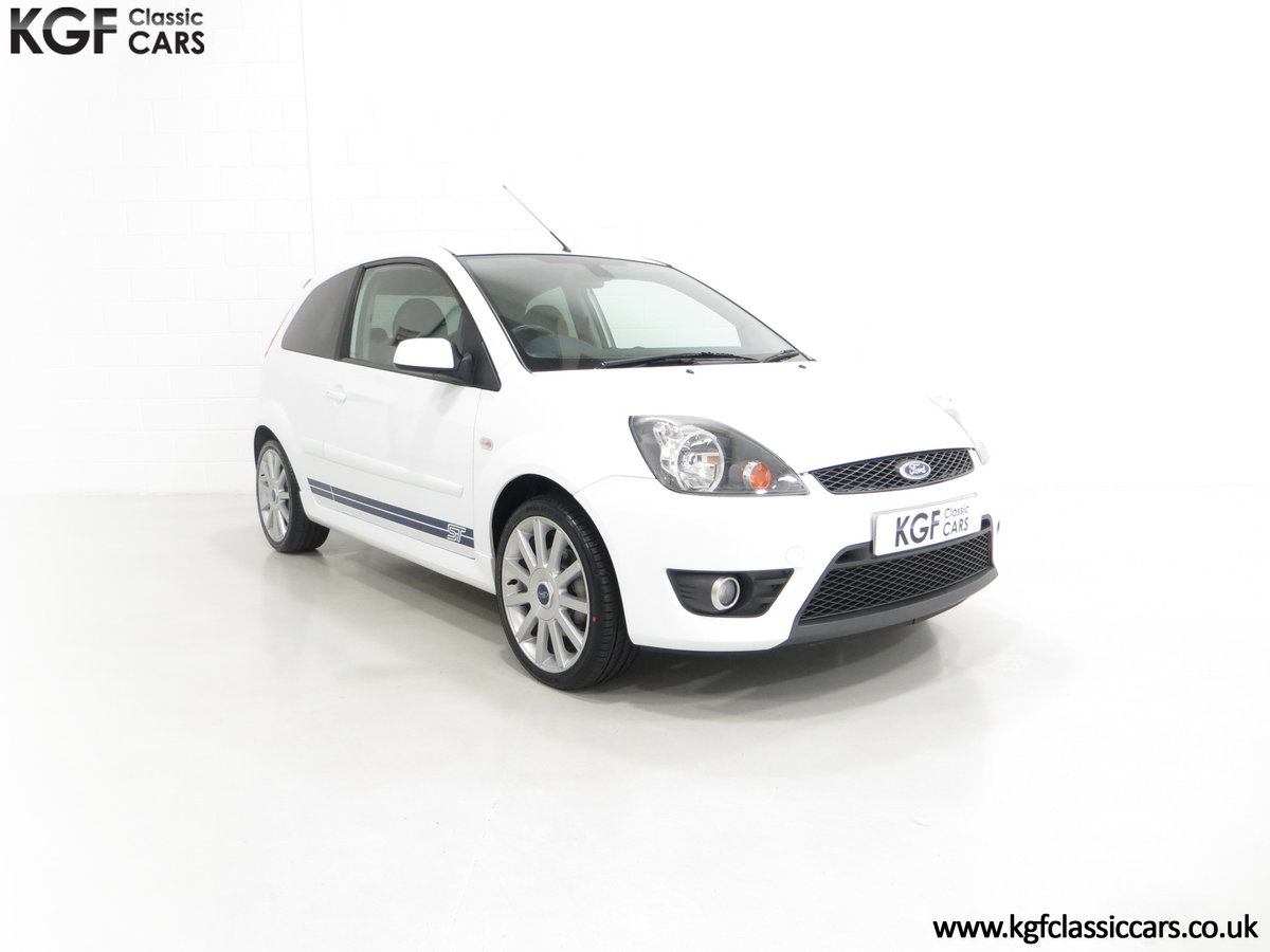 2006 A Desirable Facelift Ford Fiesta ST150 with 36,289 Miles SOLD (picture 1 of 6)