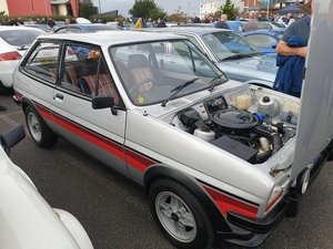 1981 Ford Fiesta Supersport MK1 1.3 Stratos Silver For Sale