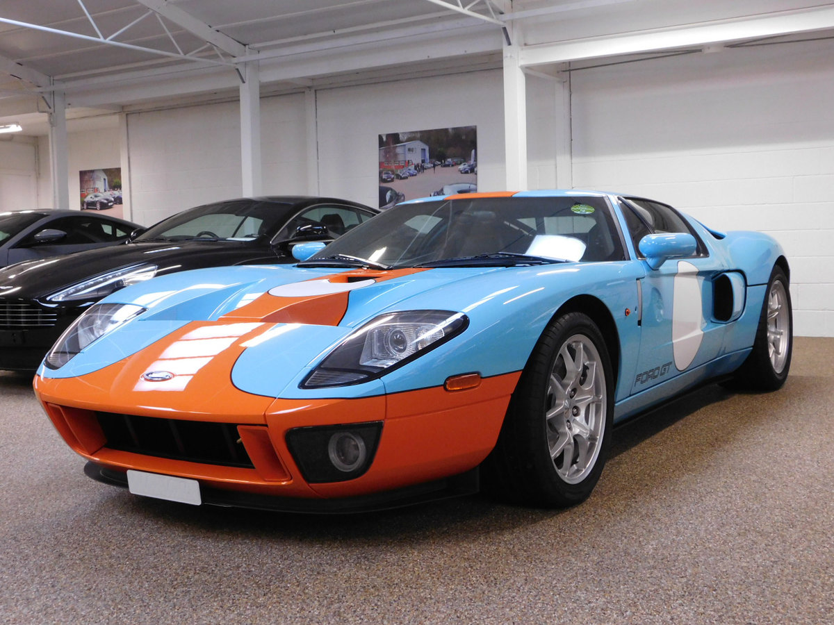 2006 FORD GT ** ONLY 11,000 MILES & HERITAGE EDITION ** FOR SALE For Sale (picture 1 of 6)