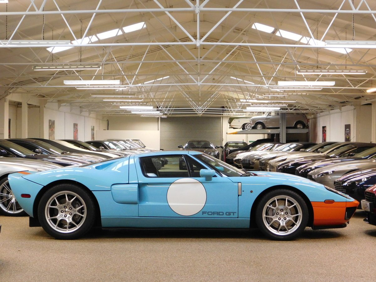 2006 FORD GT ** ONLY 11,000 MILES & HERITAGE EDITION ** FOR SALE For Sale (picture 3 of 6)