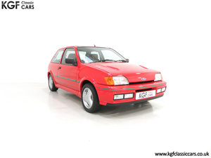 1991 A Scorching Ford Fiesta RS Turbo with Only 11,702 miles SOLD
