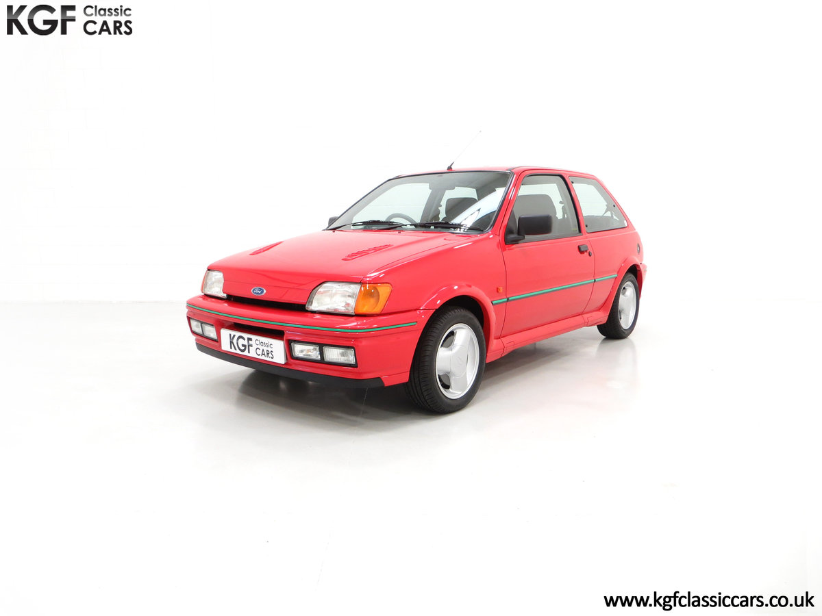1991 A Scorching Ford Fiesta RS Turbo with Only 11,702 miles SOLD (picture 2 of 6)