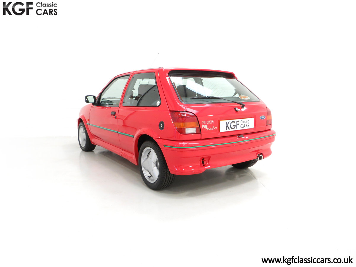 1991 A Scorching Ford Fiesta RS Turbo with Only 11,702 miles SOLD (picture 4 of 6)