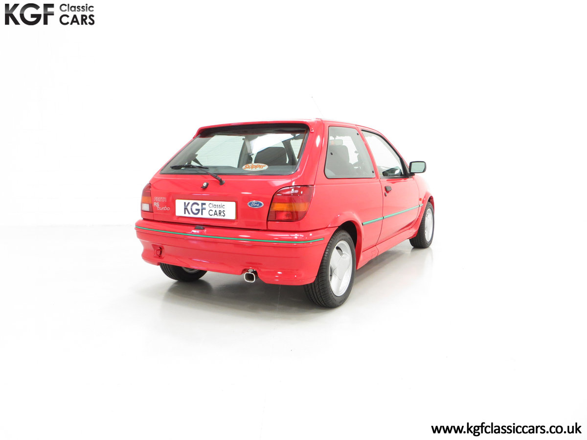 1991 A Scorching Ford Fiesta RS Turbo with Only 11,702 miles SOLD (picture 5 of 6)