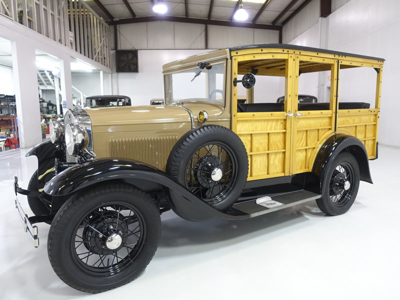 1930 Ford Model A Station Wagon For Sale (picture 1 of 6)