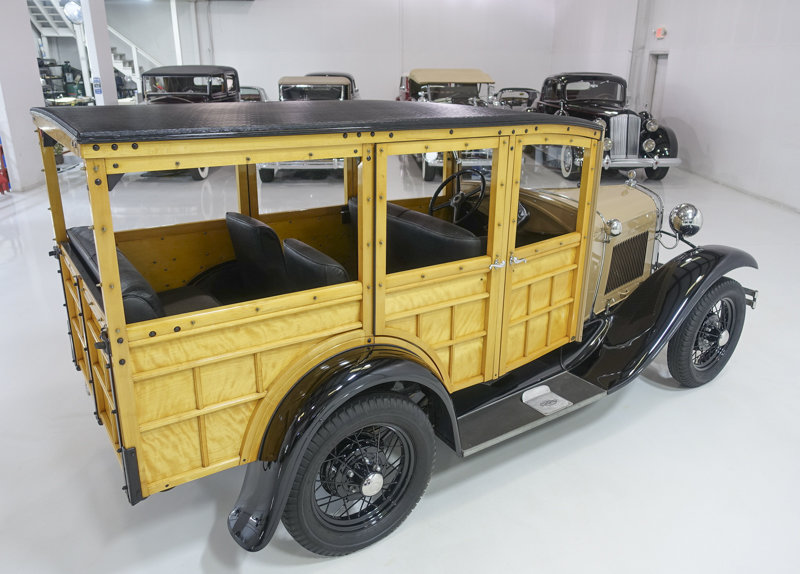 1930 Ford Model A Station Wagon For Sale (picture 2 of 6)