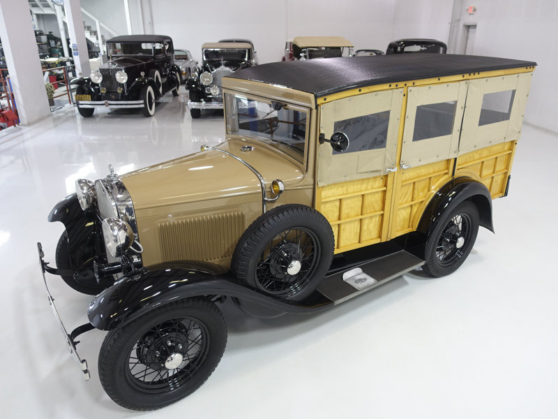 1930 Ford Model A Station Wagon For Sale (picture 3 of 6)
