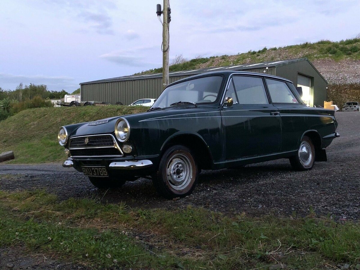 1964 Ford Cortina MK1 2 door LHD Pre Airflow For Sale (picture 1 of 6)