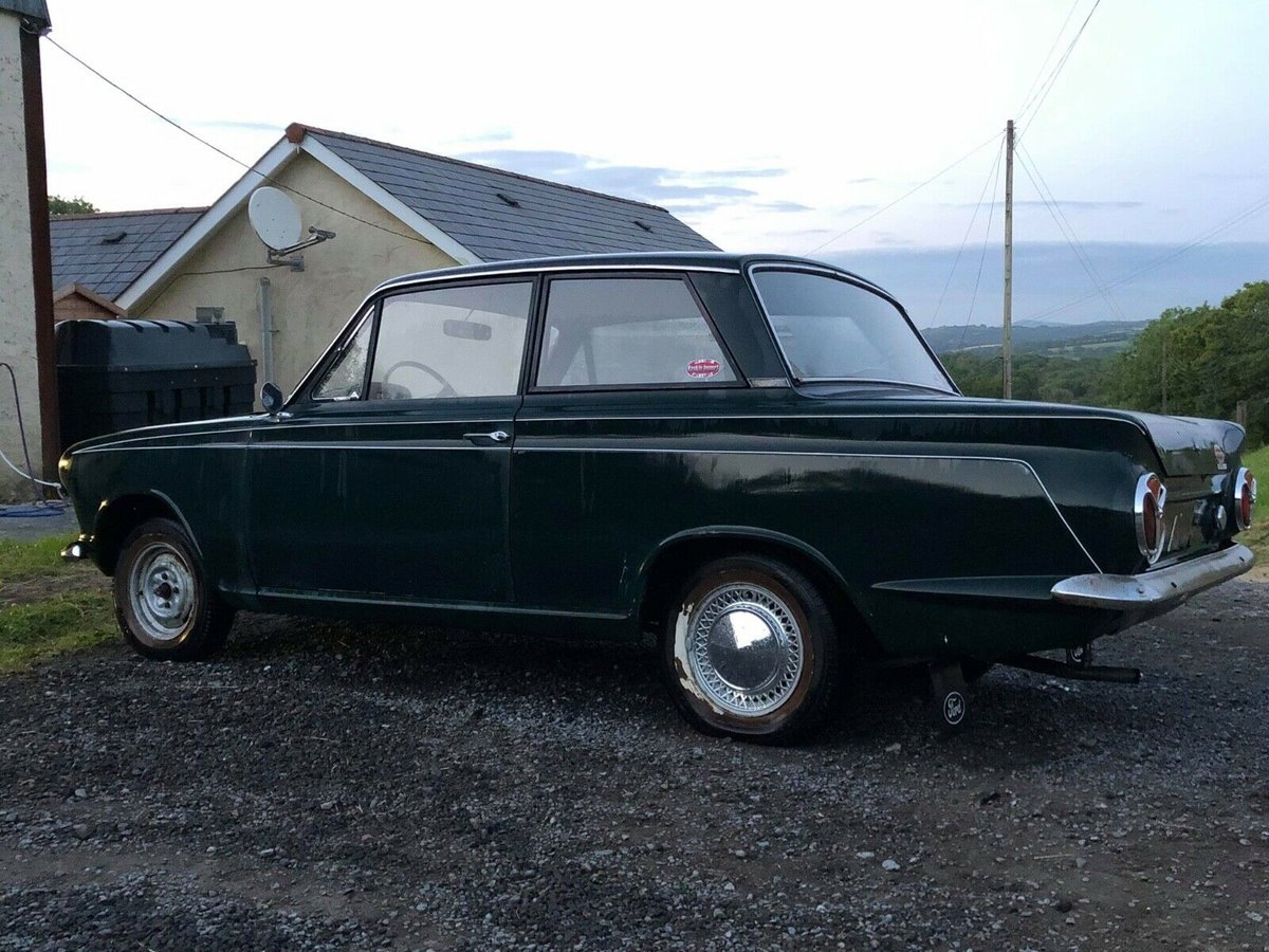 1964 Ford Cortina MK1 2 door LHD Pre Airflow For Sale (picture 2 of 6)